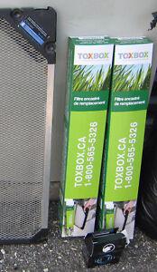 O.B.O. -- TOXBOX REPLACEMENT FILTER INSERTS (NEW) Regina Regina Area image 1