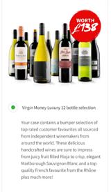 Virgin wines Luxury 12 bottle gift pack