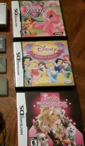 3 girl's games for Nintendo DS (Barbie, MLP, Disney)