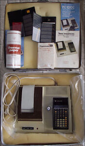 Texas Instruments TI-59 Programmable Calculator with Accessories