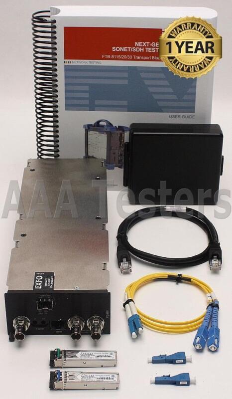 EXFO FTB-8120 Transport Blazer Network Testing Module FTB-200 & FTB-500 FTB 8120