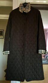 Burberry coat. Never worry