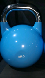New- 8kg competition kettlebells