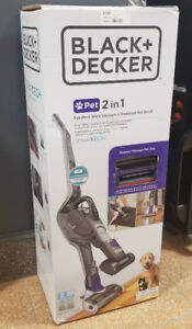 Black and Decker 2 in 1 Pet Vacuum (Brand New)