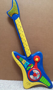 Guitar for Toddler or Child : As shown : Many features : Battery