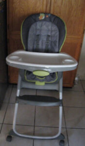 Ingenuity Trio 3-in-1 / Graco Slim Folding High Chairs