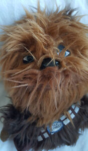 "CHEWBACCA STAR WARS 8"" TALKING STUFFED ANIMAL PLUSH"