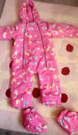 USED Joules winter snowsuit