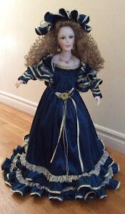 Rebecca porcelain doll