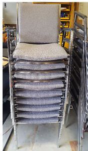 Office Chairs - Stacking Chairs - $19