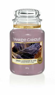 Yankee Candle Dried Lavender & Oak Collezione Farmer's Market Giara Grande 150 h
