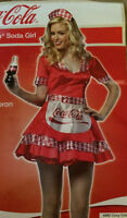 Halloween ADULTE serveuse Coca Cola
