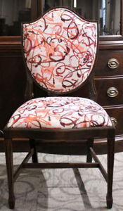 Geddes Furniture - chairs and stools - finished and unfinished