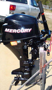 9.9 MERCURY LONG-SHAFT OUTBOARD
