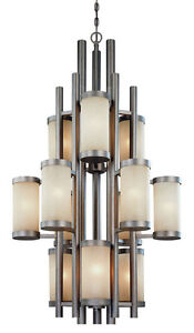 Mint Condition 12 Light 3 Tier Chandelier