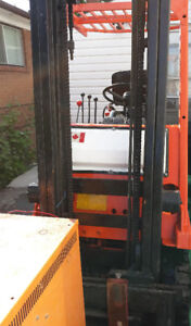 TOYOTA ELECTRONIC FORKLIFT FOR SALE