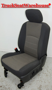 Dodge Ram 1500 Truck Cloth Power Drivers Seat