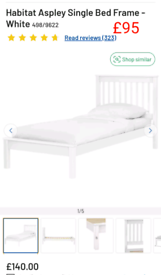 Aspley single bed frame only £95. RBW Clearance Outlet Leicester City