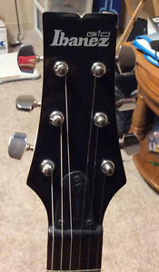 Ibanez Electric Guitar With Carrying Case!