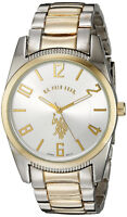 Brand New U.S Polo Assn. Men's Two Tone Dial Watch