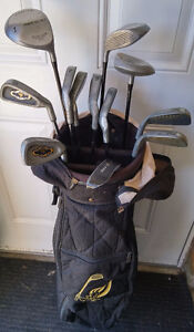 Full set Golf Clubs with Bag & other Golf Stuff in Crowsnest
