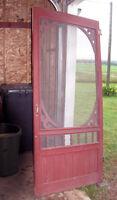 Each $80 Door, 2 screen door style- 36x80, 1.30in thick, solid
