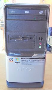 ACER AMD DUAL CORE 2.60 GHZ REFURB TOWER COMPUTER WINDOWS 7