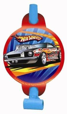 Party City Favors (Hot Wheels Speed City Party Favor Blowouts 8 Per Package Birthday Supplies)