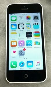 White iPhone 5C 16GB Rogers 8/10 Condition/ Mint Screen