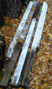 Posts 4x4/Lumber pieces/ wood/ cabinet rollers/odds n ends