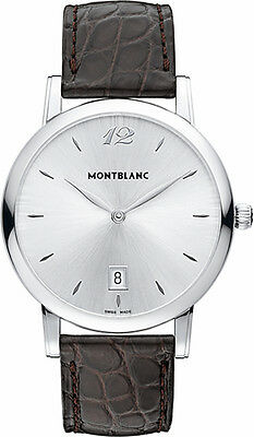 MODEL 108770  | BRAND NEW AUTHENTIC MONTBLANC STAR CLASSIQUE DATE MEN'S WATCH