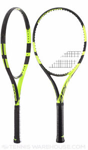 Babolat Pure Aero 2016 with Wilson NXT Power String - NEW
