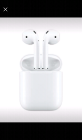 9ce09a489ce BRAND NEW The latest AirPods — complete with Wireless Charging Case —