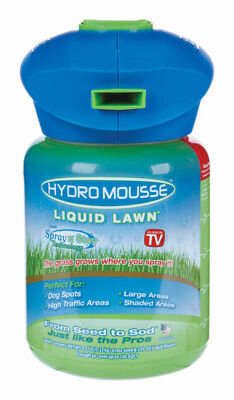 Hydro Mousse Liquid Lawn  As Seen on TV  Shade  Grass Seed  1/2 oz.