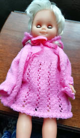 16 inches doll with blonde hair