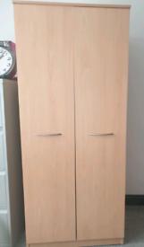 2 door wardrobe fully assembled