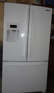 Samsung Fridge Double Doors with Freezer on the Bottom