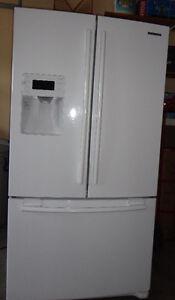 Samsung Fridge Double Doors with Freezer on the Bottom