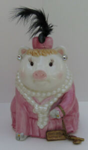 MUD PIE JEWELRY FUND PIGGY BANK