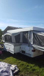 2003 coleman utah tent trailer