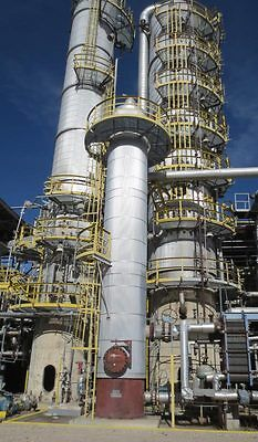 Side Stripper Distillation Column-ab Process 304ss. Contains 18 Trays.