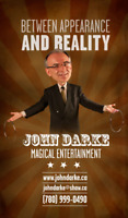 Laugh and say WOW! with Edmonton magician Dr. John Darke