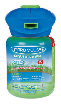 Hydro Mousse Liquid Lawn 100 Sq Ft As Seen on TV Grass Seed Spray Model 15000