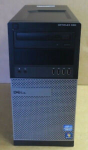 Dell OptiPlex 990 Tower PC Quad Core i7-2600 3.4GHz/4GB/500GB HD