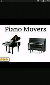Fast , affordable piano mover