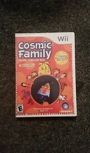 Cosmic Family Wii Game New