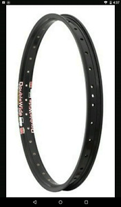 want a set of double wide,stype, double track rims