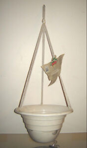 New - Hanging & Railing Planter, Wind Chimes, Frog Ornaments