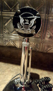 Silver eagle desktop microphone for CB Kitchener / Waterloo Kitchener Area image 2
