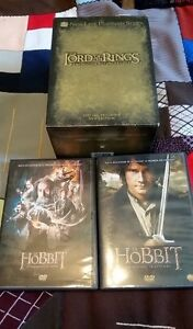 the lord the rings + 2 films le hobbit